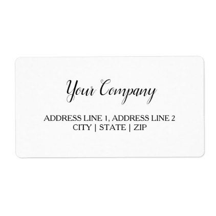 Wedding And Business Shipping Labels - bridal shower gifts ideas