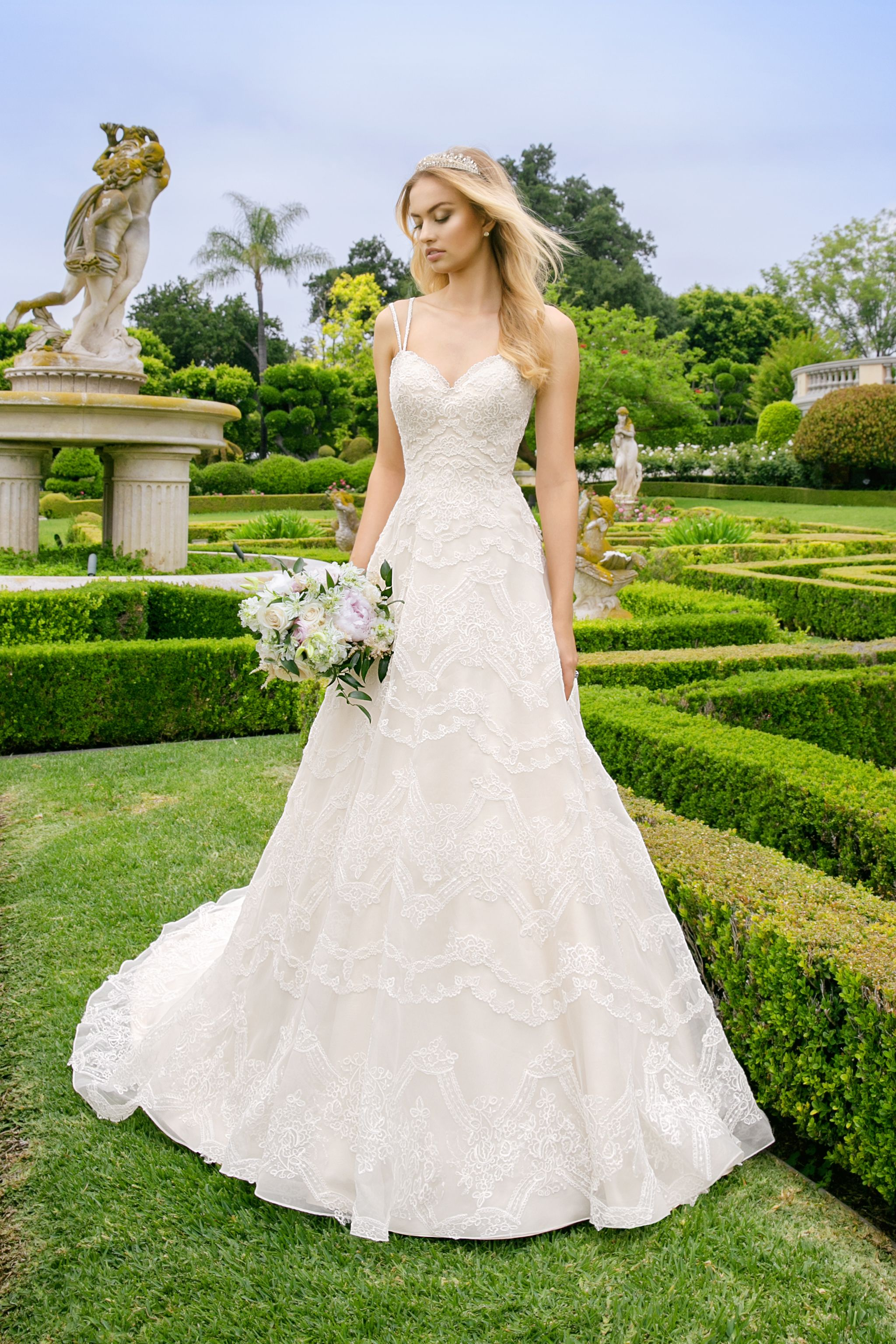 How to choose the perfect lace wedding dresses