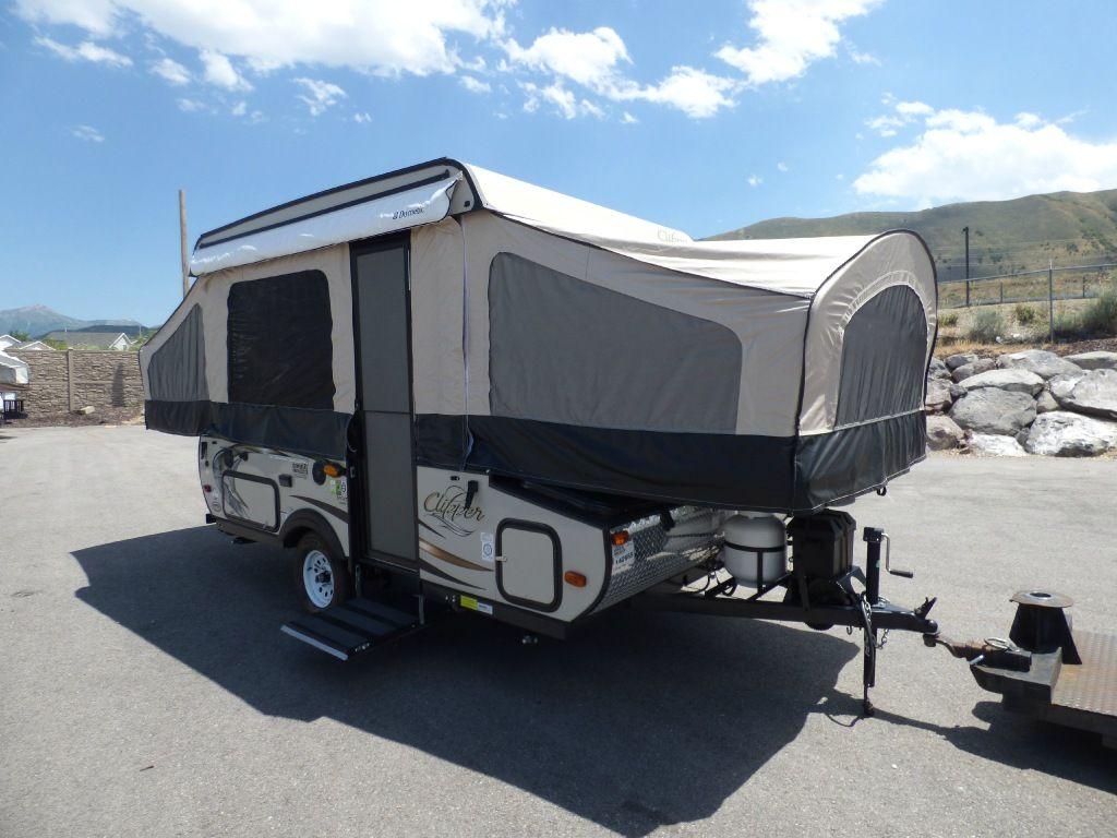 Used 2015 Coachmen Rv Clipper Camping Trailers 108st Sport Folding