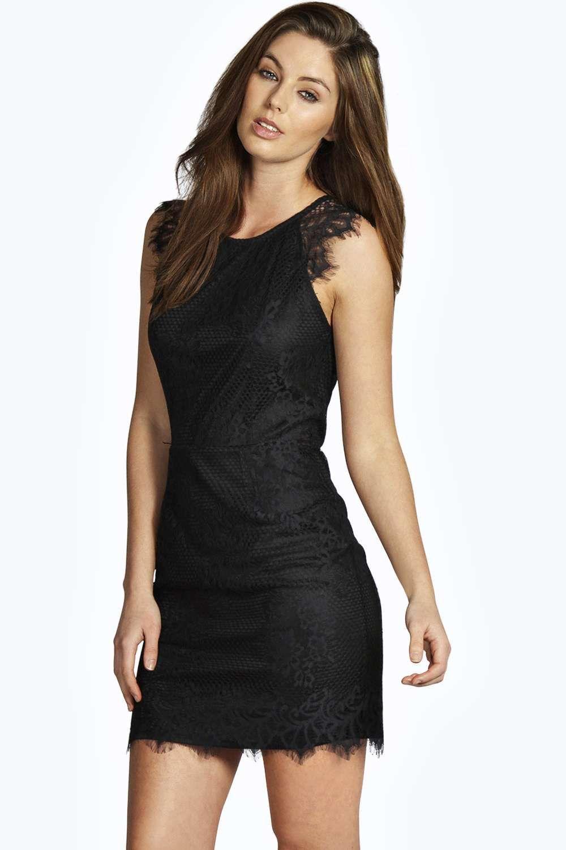 01f258be418 Jen All Over Eyelash Lace Bodycon Dress alternative image