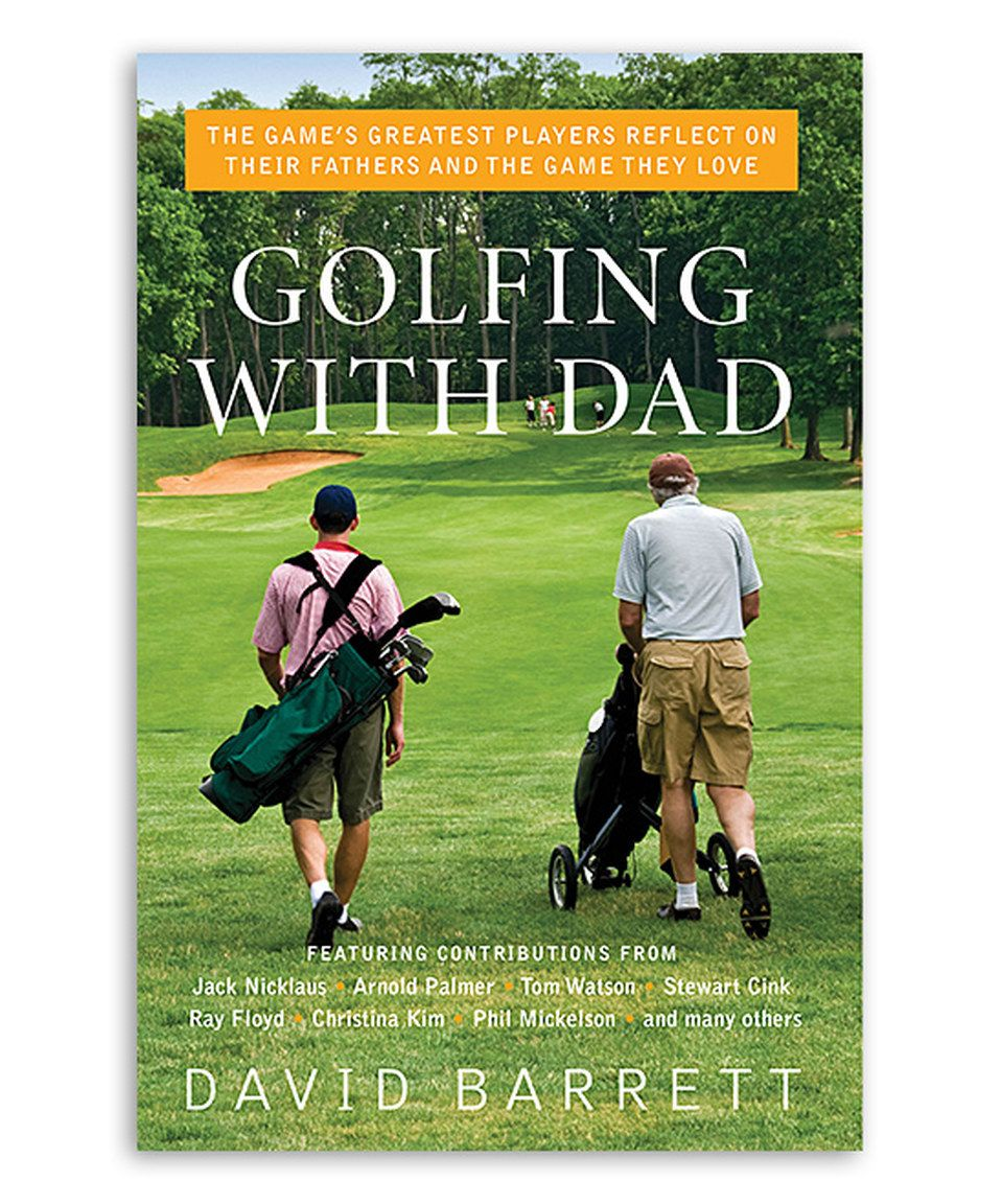 Take a look at this Golfing with Dad Paperback today!