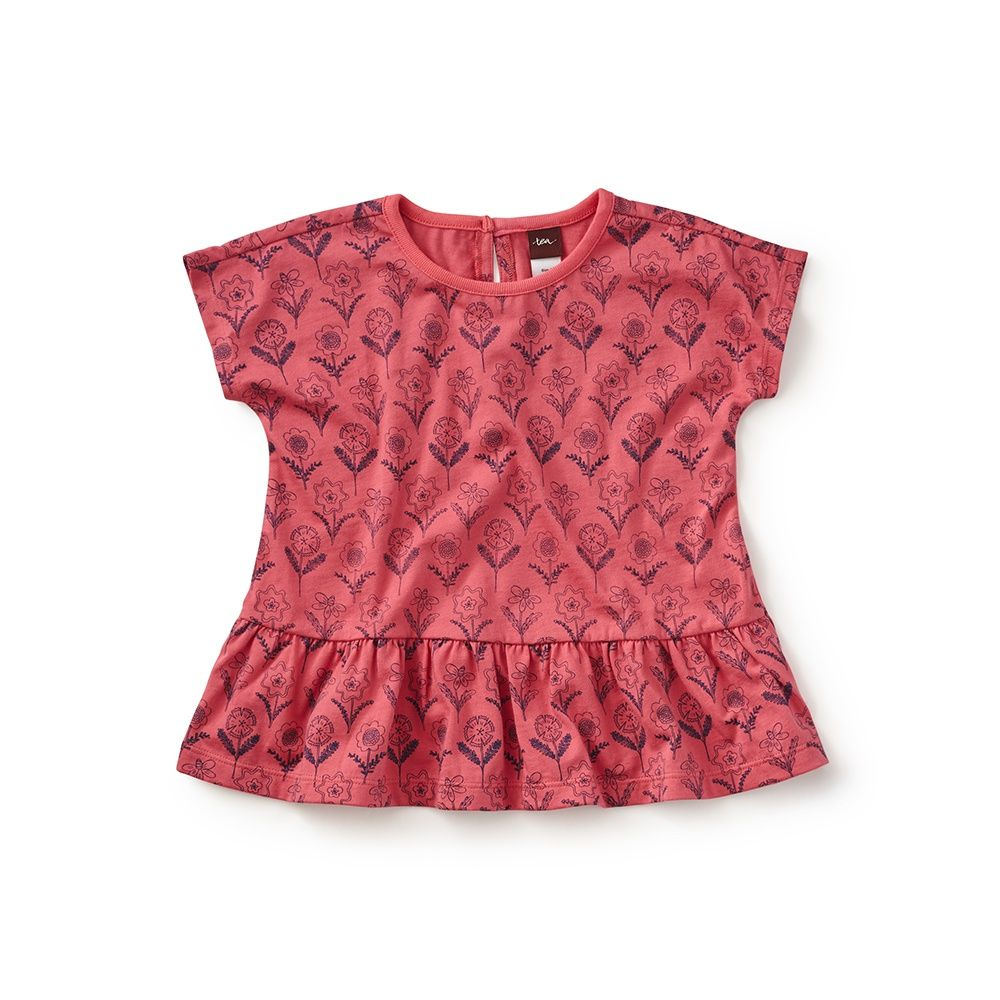 Liliana Peplum Top | Kids outfits, Childrens clothes ...