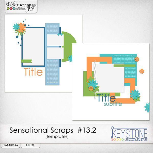 Sensational Scraps #13.2 By Keystone Scraps