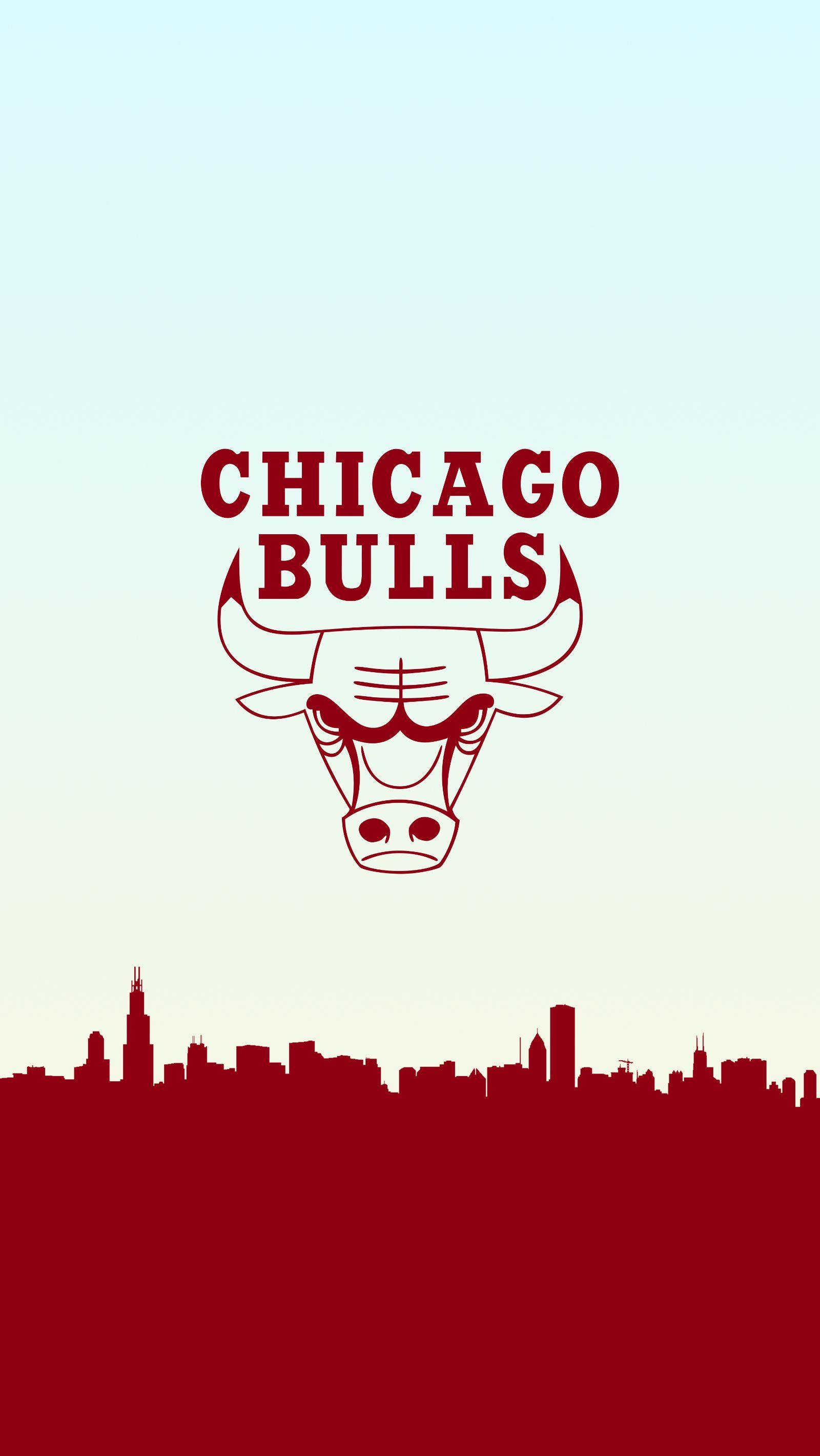 Chicago Bulls Basketball Phone Background Chicago Bulls Wallpaper Logo Chicago Bulls Chicago Bulls Logo