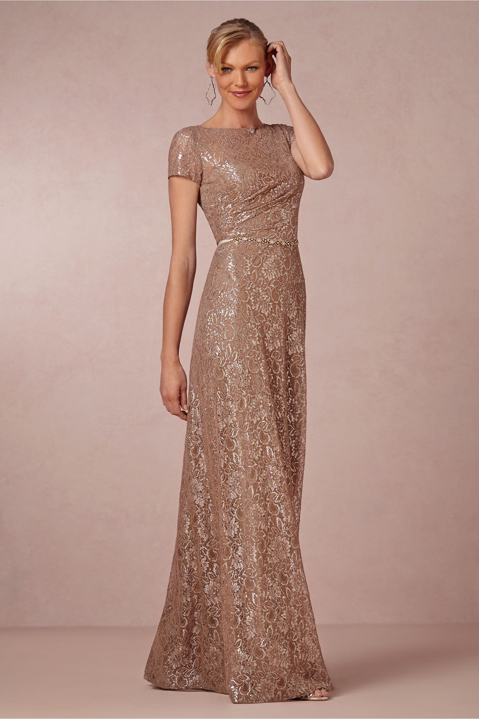 86bfd1118e1 Dusky Pink Dress - for bride or bridesmaids