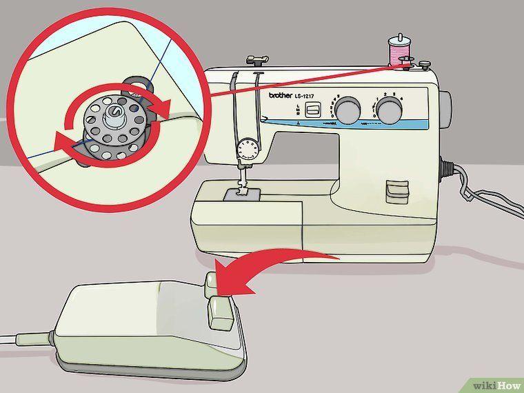 связать заправить швейную машинку картинках показ проходит тише