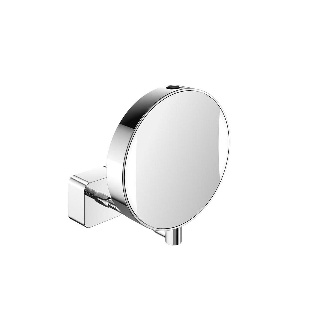 Spiegel 109500111 hard wired flexible arm led lighted magnifying stunning elegant high end modern led lighted wall mounted hard wired magnifying mirror finished mozeypictures Choice Image
