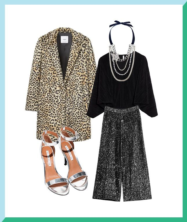 Save this style inspo to see how to get 4 holiday looks out of one bodysuit.