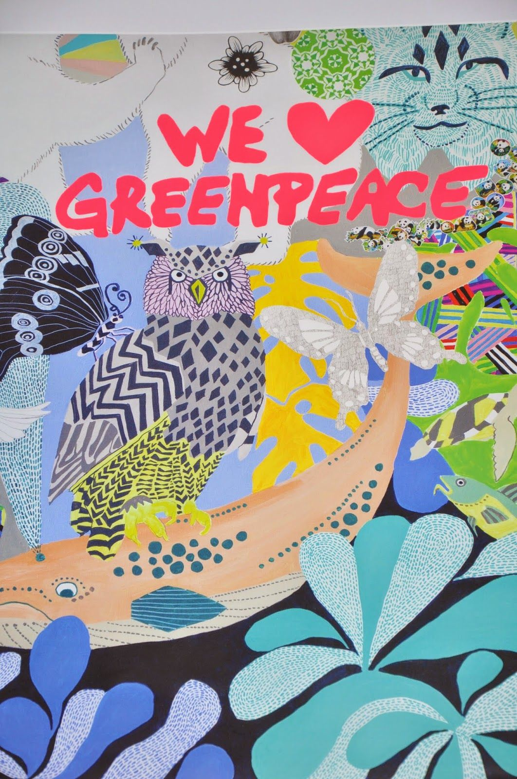 NORDI: Lisa Grue - WE LOVE GREENPEACE