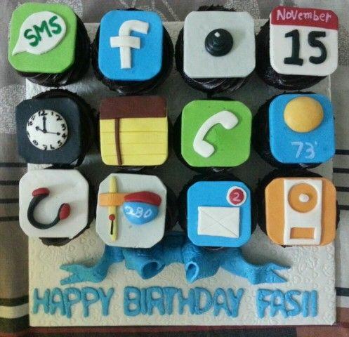 Yumlicious cupcakes on my birthday