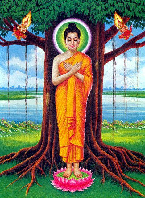 Pin On Religion Spirituality Buddha painting hd wallpaper