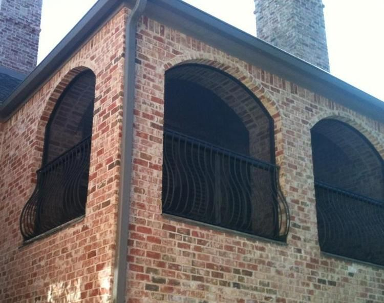 Arched Openings In Screen Porch