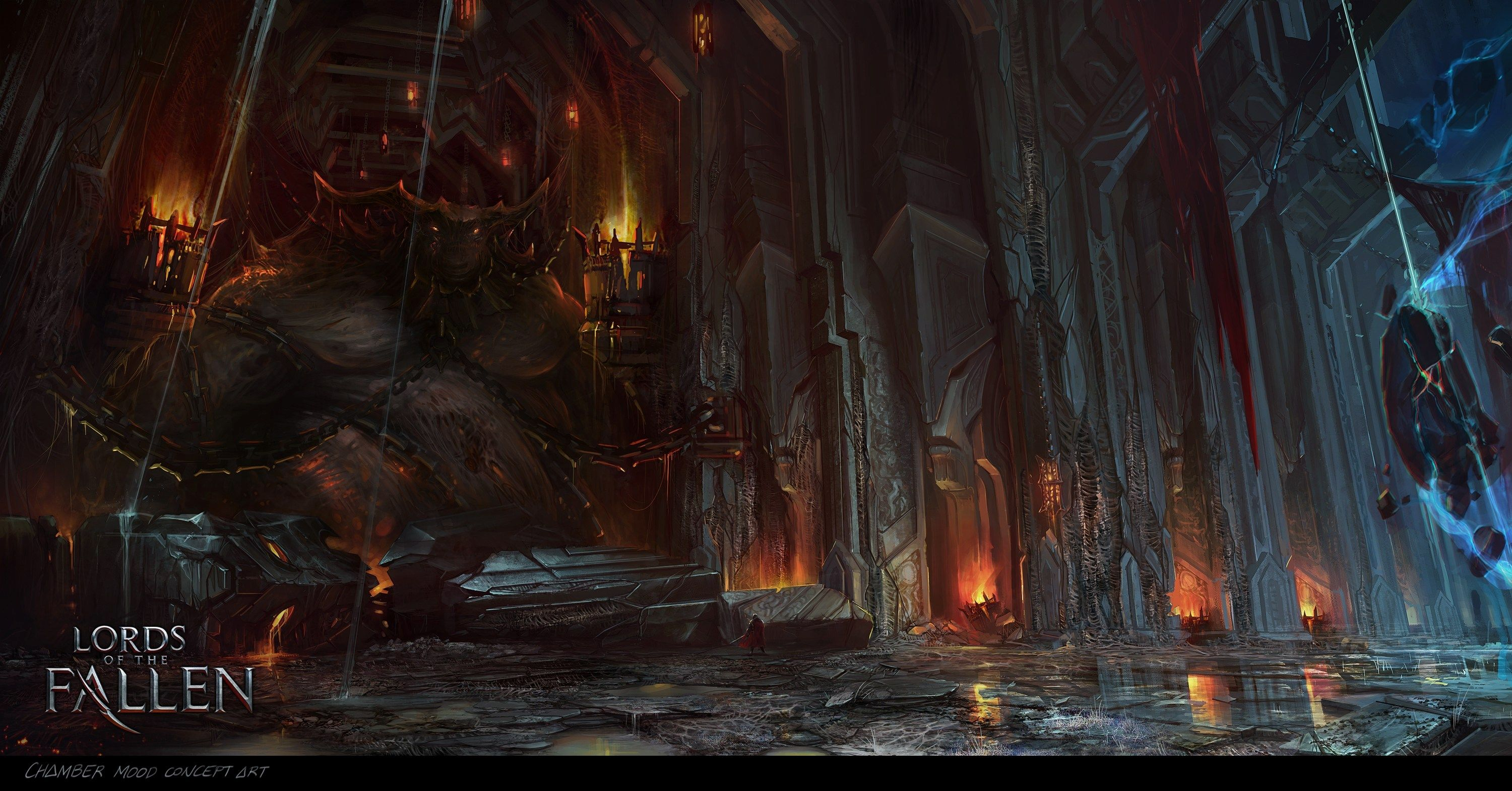 3000x1570 Free Pictures Lords Of The Fallen Fantasy Landscape