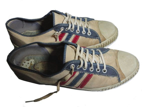 816ba5948e5c8c vintage 1960s FRUIT Of The LOOM Sneakers 10 by VintageTrafficUSA Converse  All Star