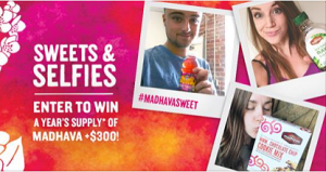 Madhava Natural Sweeteners Sweets & Selfies Sweepstakes!