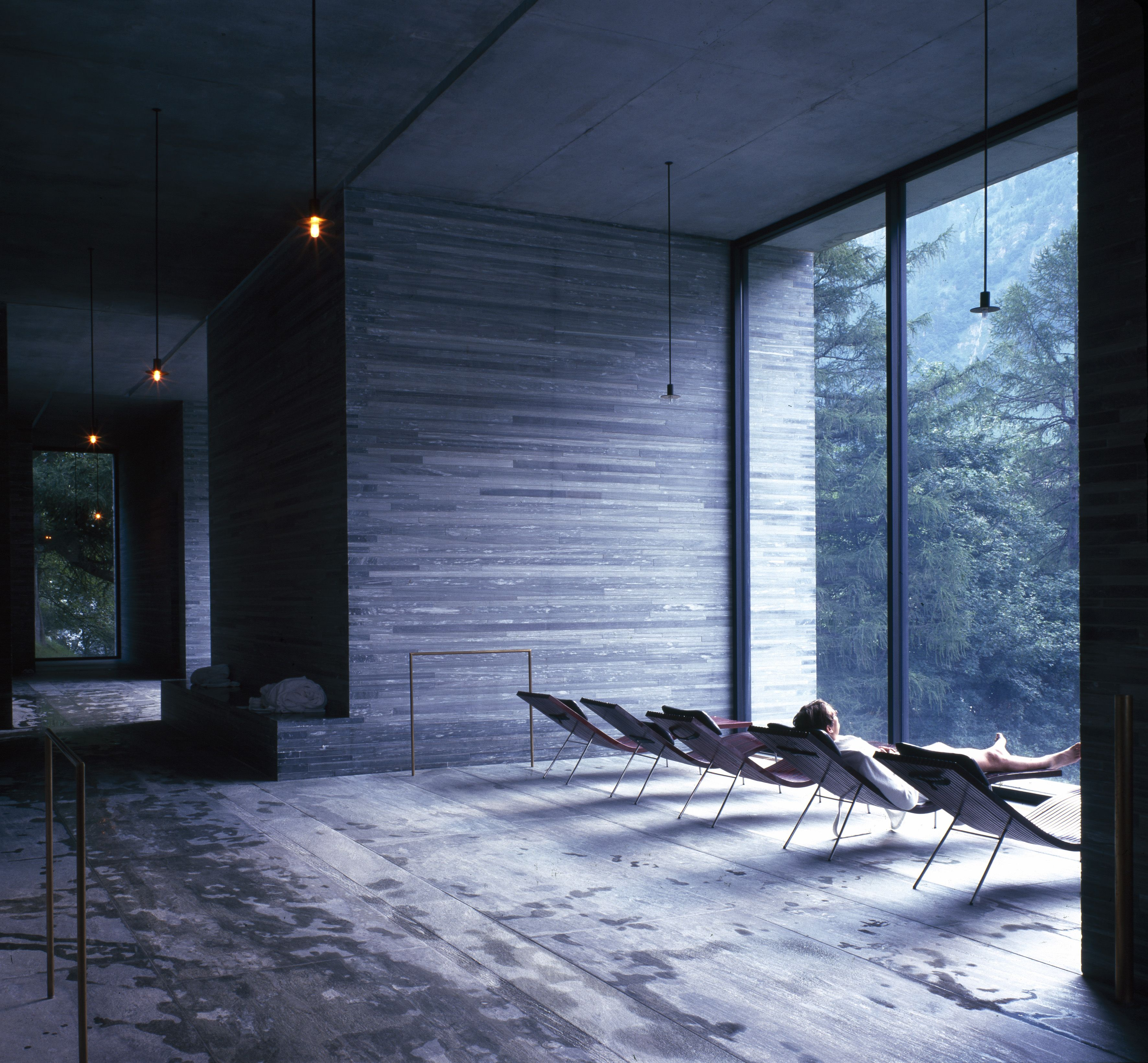 Peter Zumthor idealizes this idea in much of his work including the ...