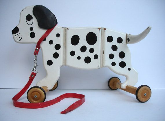 Spot The Dog By Applepie Toys Dalmation Dog Vintage Childrens Toy