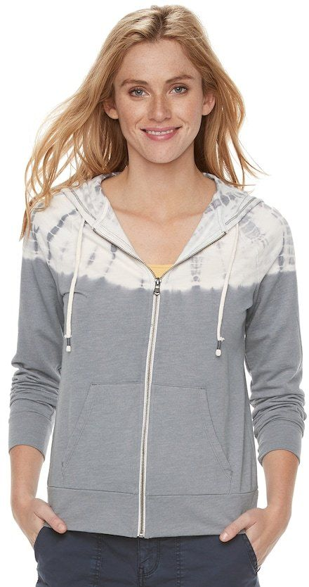 c6206e3c6 SONOMA Goods for Life Women's SONOMA Goods for LifeTM Tie-Dye French Terry  Hoodie