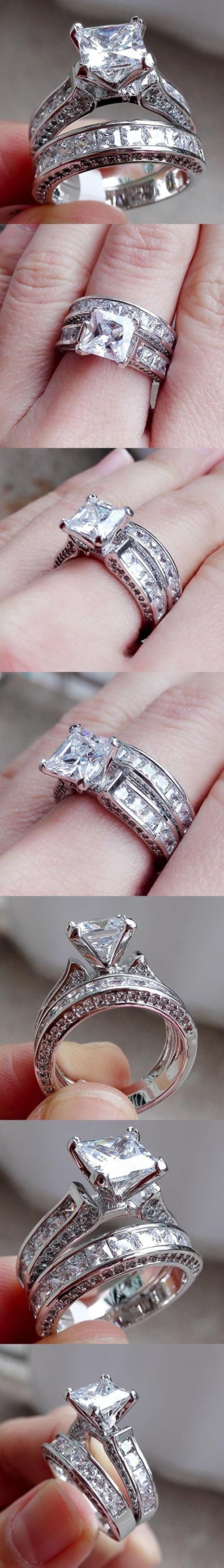 affordable real for accessories clearance modern silver women jewelry plated bridal white gold color sparkle crystal favors rings diamond finger style sets icon design large cheap wedding carat
