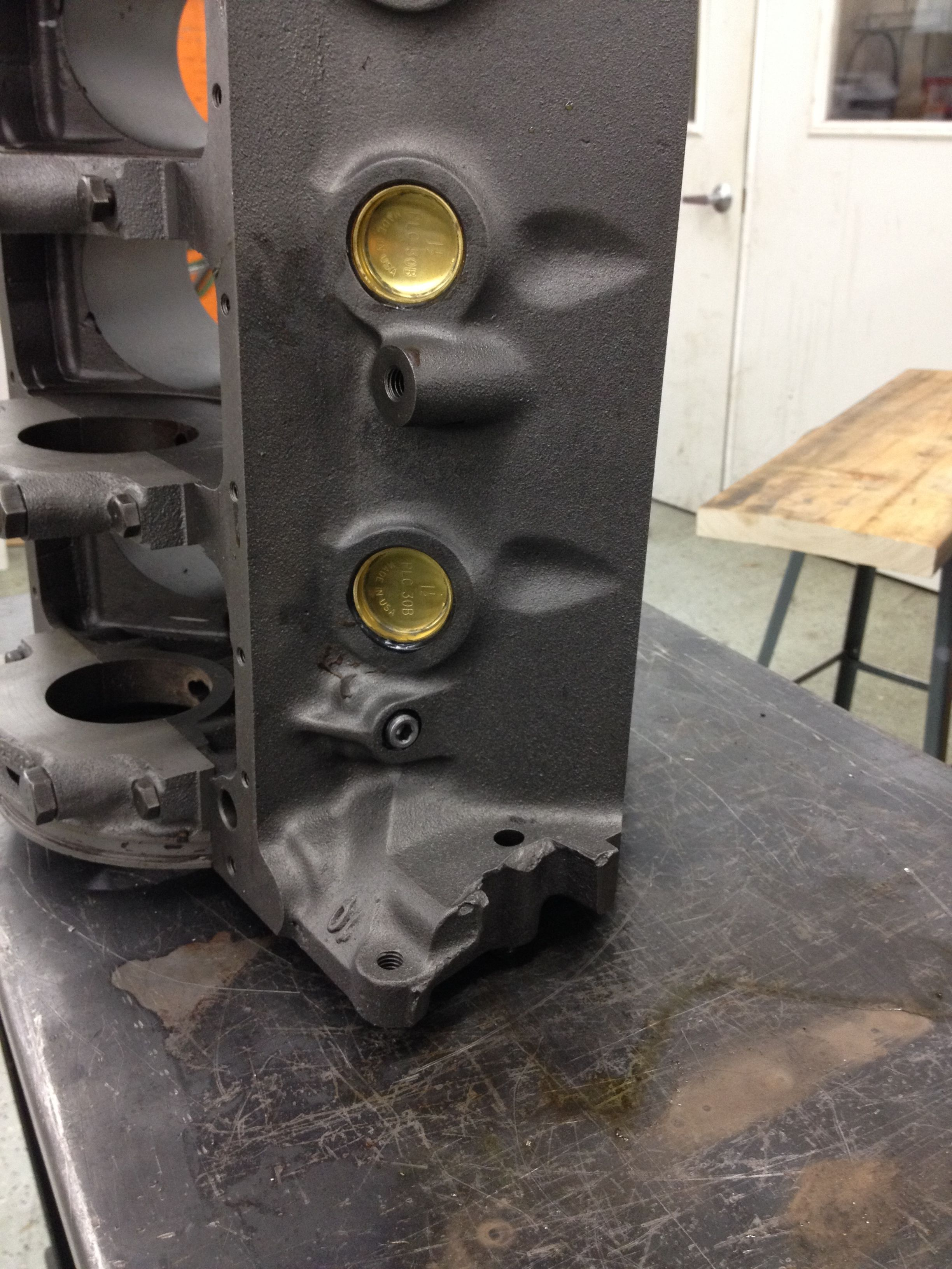 XE block rear driver side Manufacturing, Automotive