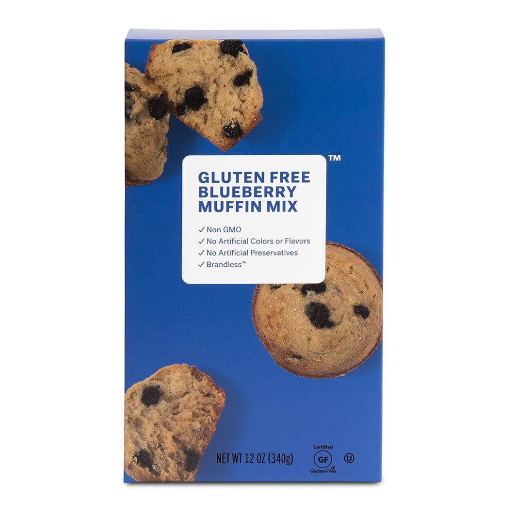 Gluten Free Blueberry Muffin Mix 12 oz Brandless