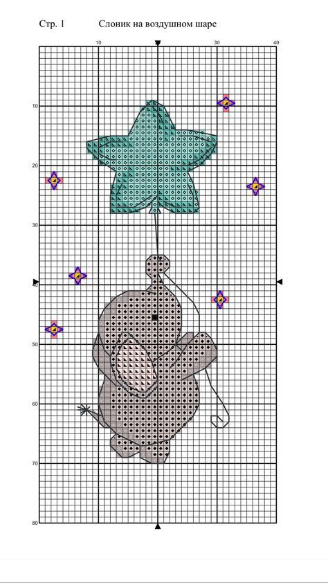16 + Trendy Ideen für Crochet Baby Elephant Cross Stitch #crochetstitchespatterns