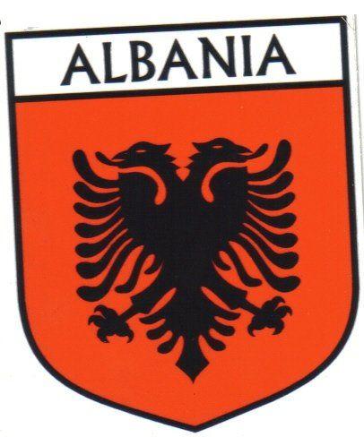 Albania Coat Of Arms Albania Flag Albanian Flag Albania