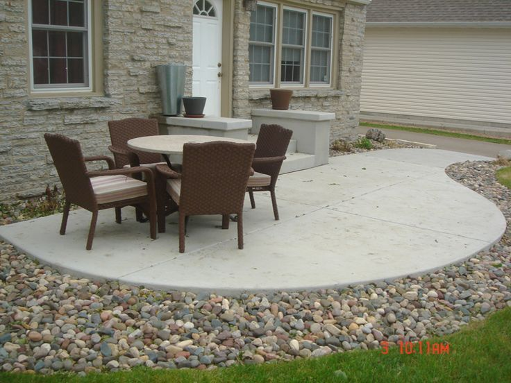 Superbe 17 Best Ideas About Stamped Concrete Patio Cost On Pinterest .