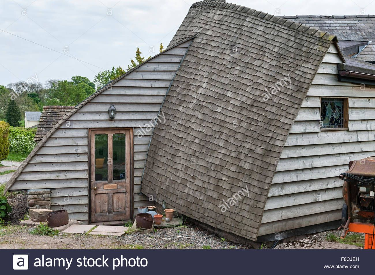 Best Herefordshire Uk A Self Built House Timber Clad With A 400 x 300