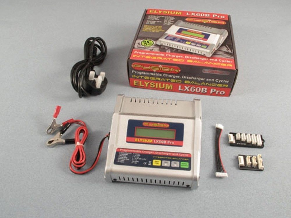 Details about RC Battery Charger Fusion LX60B Intelligent