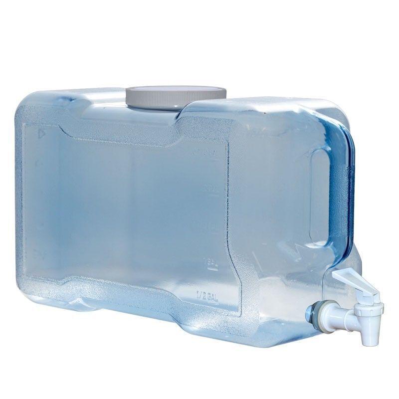 3 Gallon Bpa Free Water Wide Mouth Bottle Jug Refrigerator Valve