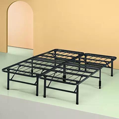 black bed frame full Home & Kitchen