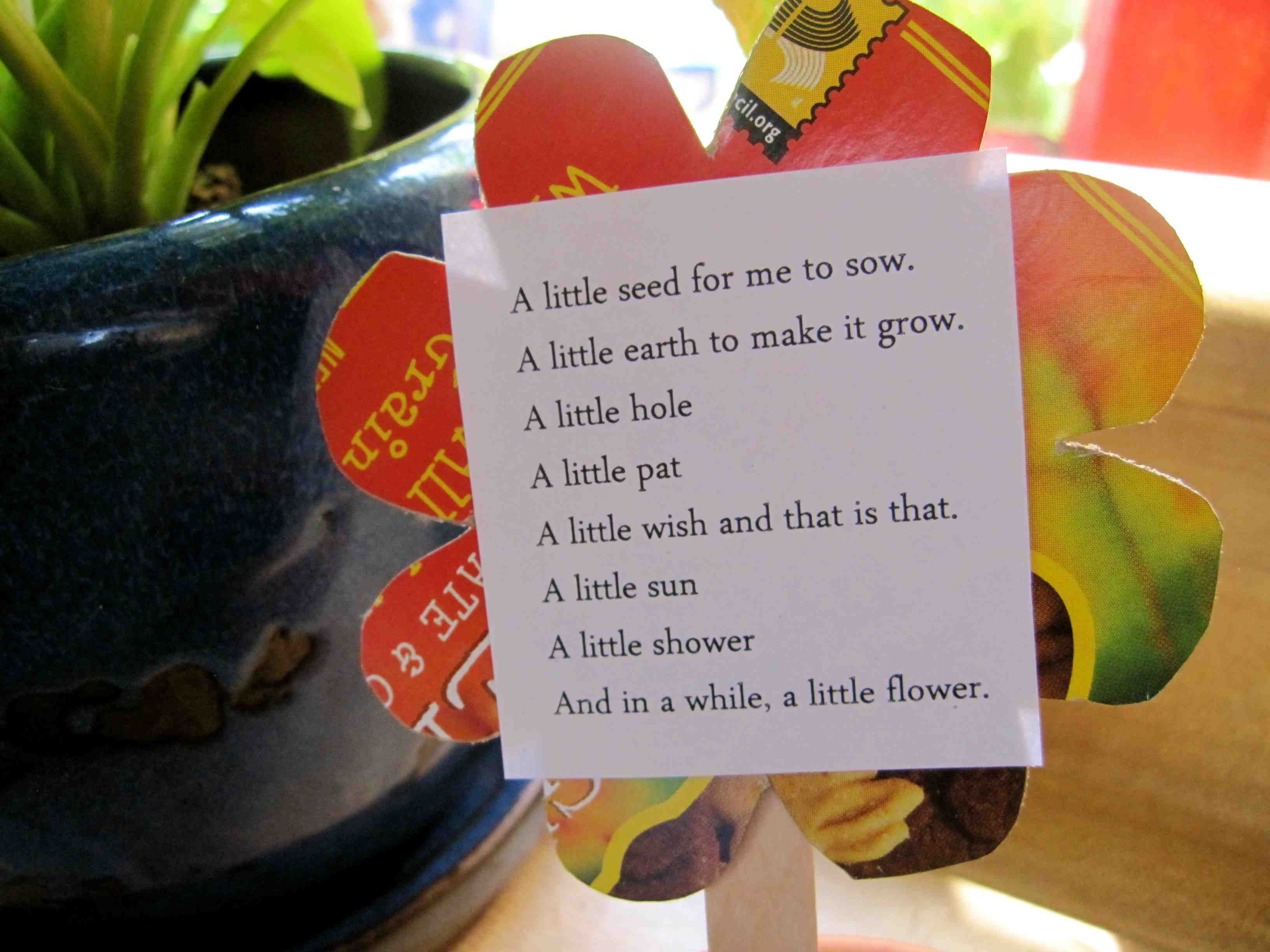 Sunday Was Earth Day And It S Also National Poetry Month