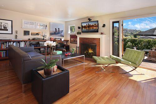 Wood floors + windows