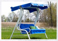 How To Make A Replacement Swing Canopy Canopy Outdoor Patio Swing Diy Canopy