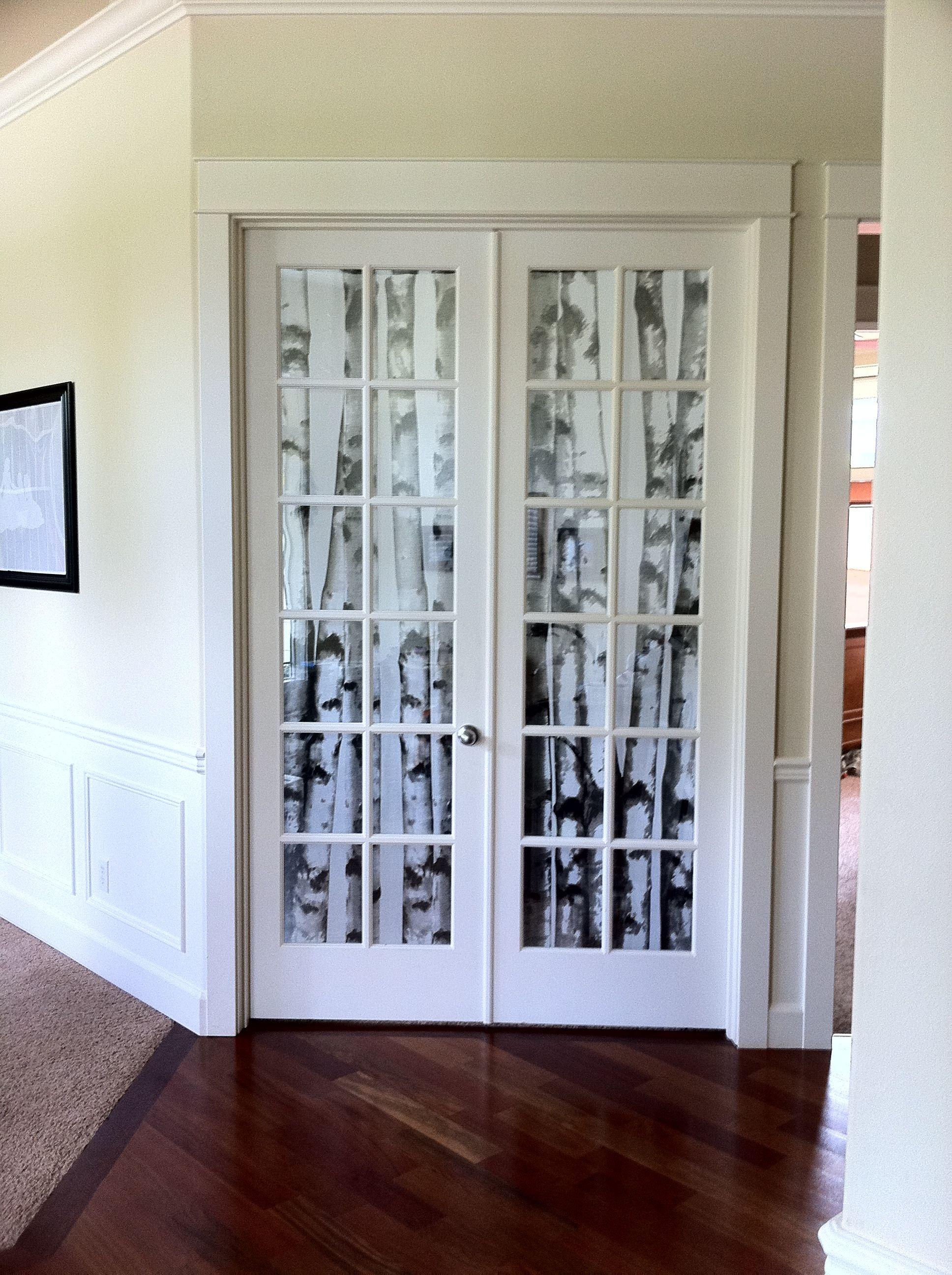 Office Door Window Coverings Diy Project Door Window