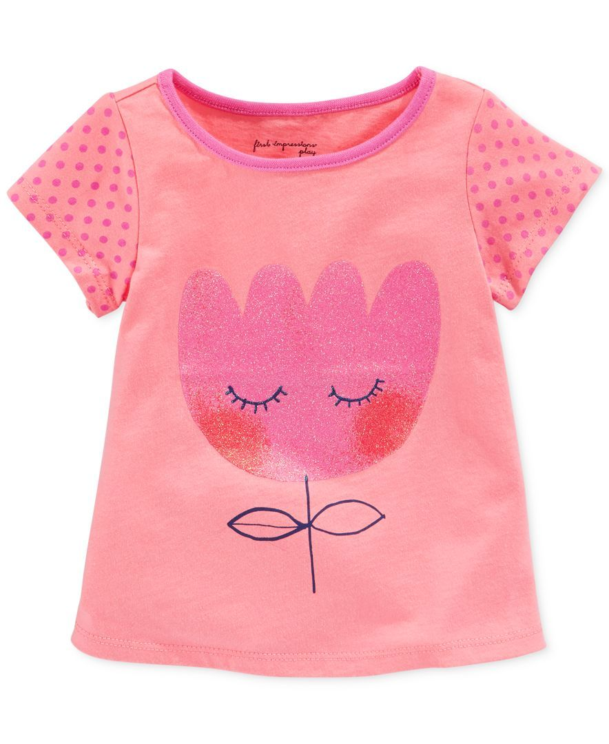 Girls\' Blushing Tulip Tee | Graphics for baby girl | Pinterest ...
