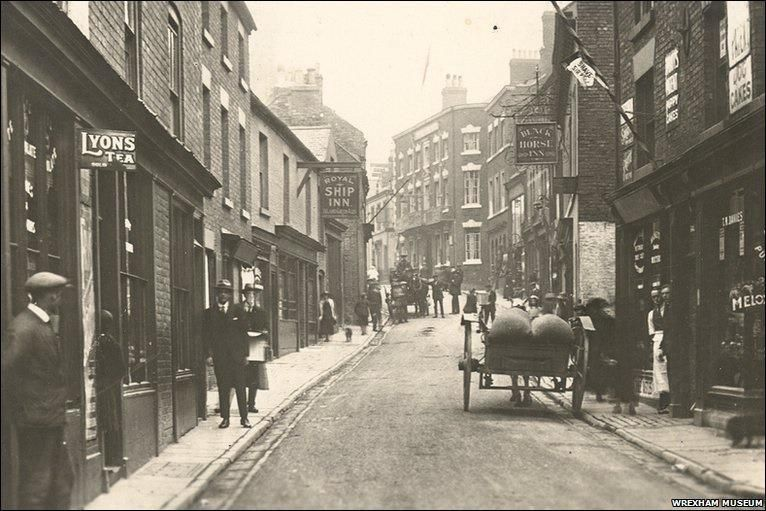 The changing view of Yorke Street