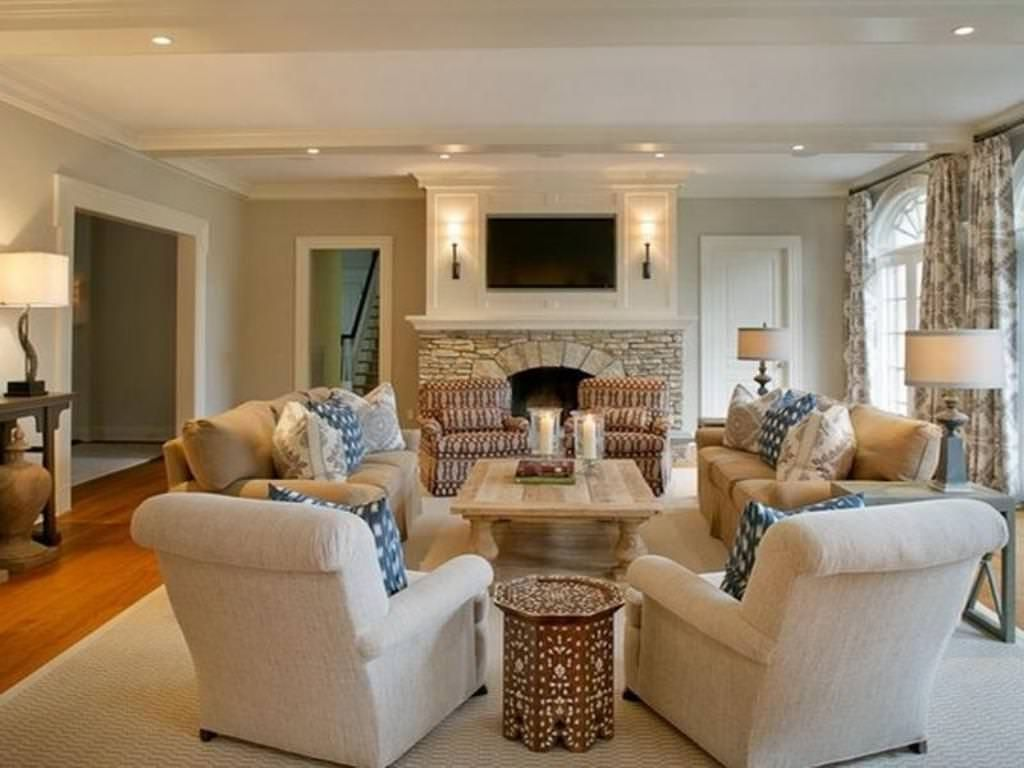 Arranging Living Room Furniture Ideas Home Design With Regard To Living Room Chair Ideas Livingr Rectangular Living Rooms Long Living Room Livingroom Layout