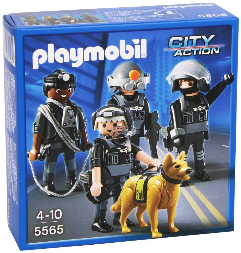 Was now save 12 off playmobil 5565 city action police tactical unit team 48 - Playmobil camion police ...
