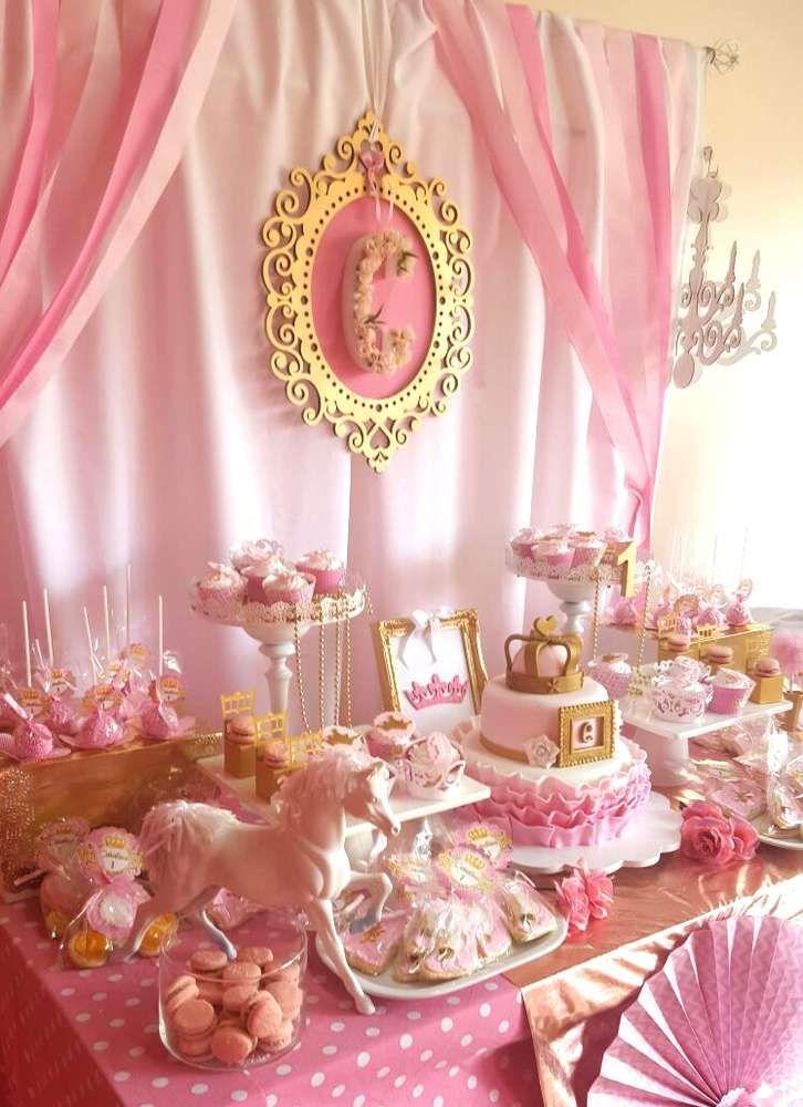 Primer a o de la princesa de la casa - Fiestas de cumpleanos de princesas ...