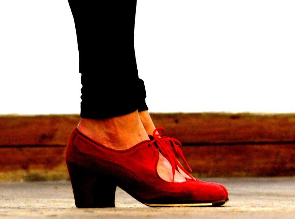 Red shoes <3