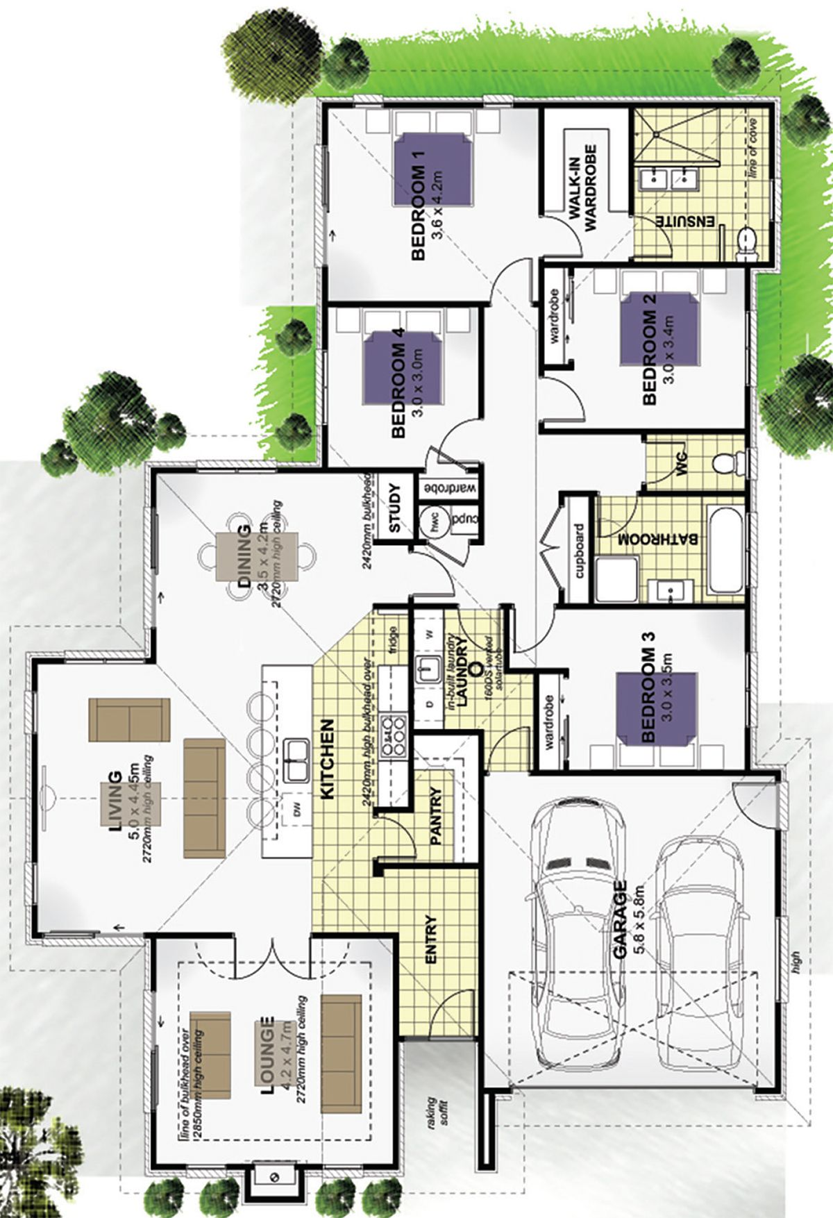 Floor Plan Friday Large Kitchen With Open Plan Living Floor Plans Kitchen Floor Plans Floor Plan Design