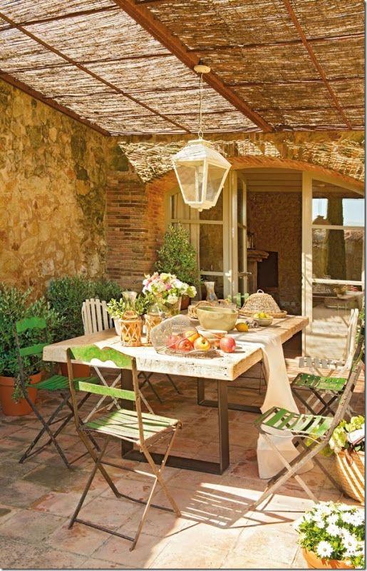 Case E Interni Casa Di Campagna In Catalogna Garden Rustic
