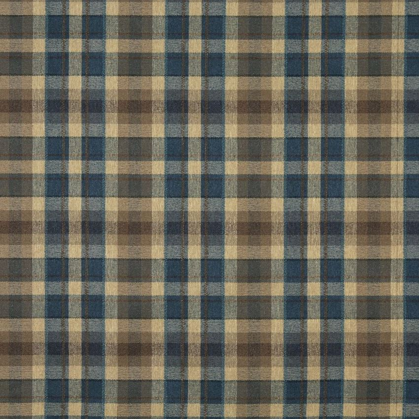 The KC282 upholstery fabric by KOVI Fabrics features Country or Lodge or Cabin, Plaid or Gingham pattern and Beige or Tan or Taupe, Brown, Dark Blue as its colors. It is a Tweed type of upholstery fabric and it is made of 62% Olefin, 38% Polyester material. It is rated Exceeds 50,000 Double Rubs (Heavy Duty) which makes this upholstery fabric ideal for residential, commercial and hospitality upholstery projects. This upholstery fabric is 54 inches wide and is sold by the yard in 0.25 yard…