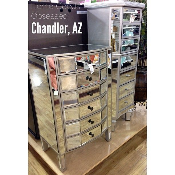 Home Goods Mirrored Furniture: Mirrored Furniture Galore! Lots Of Options To Choose From