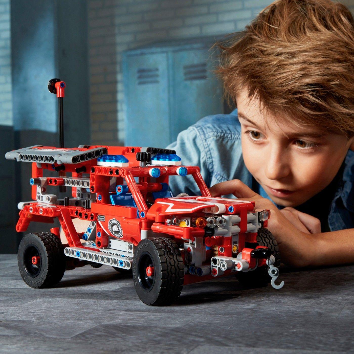 Lego Technic First Responder 42075 Technic Lego Responder Building Fans Lego Technic Lego Lego For Kids