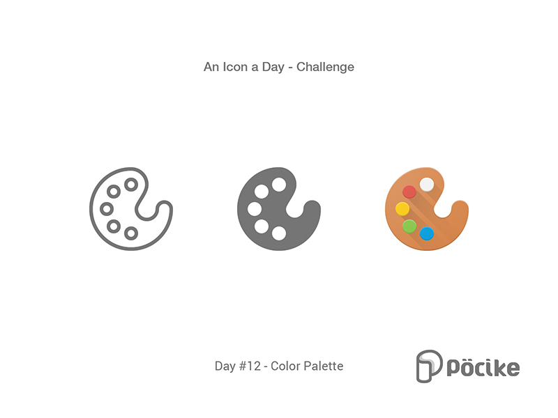 Icon Challenge Day 12 Color Palette