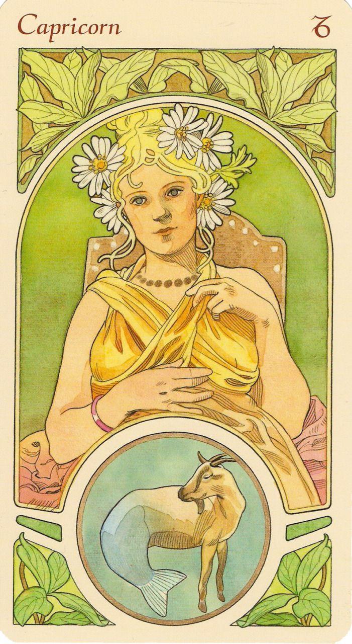 Capricorn Art Nouveau