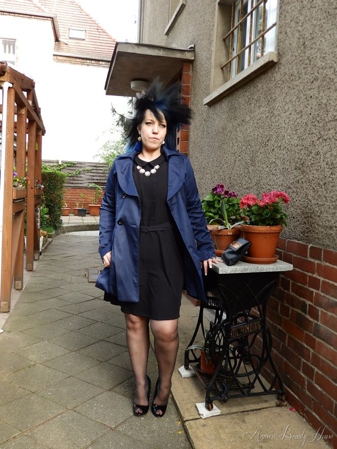 Dressed In Black From Head To Toe Outfit Zur Geburtstagsfeier 70